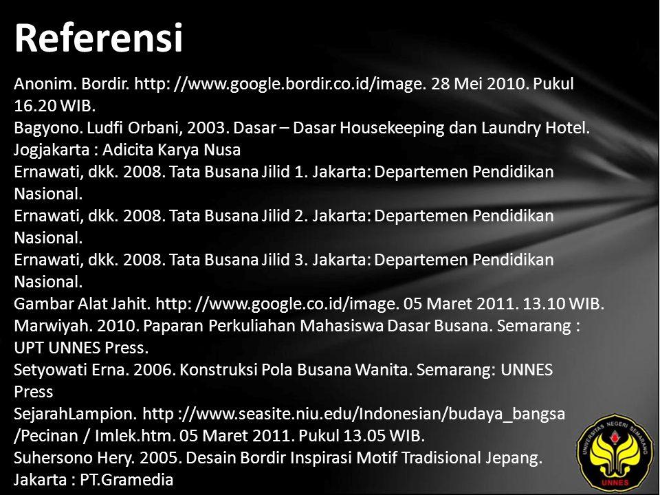 Referensi Anonim. Bordir. http: //www.google.bordir.co.id/image.