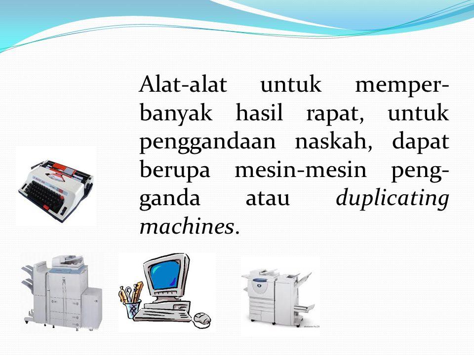 Mesin tik adalah mesin yang harus dimiliki oleh kantor-kantor, yang berguna untuk memperlancar pekerjaan kantor.