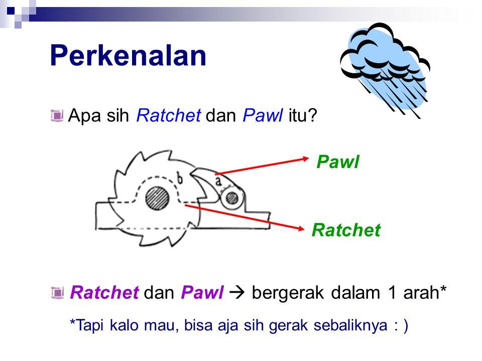 Perkenalan Apa sih Ratchet dan Pawl itu.
