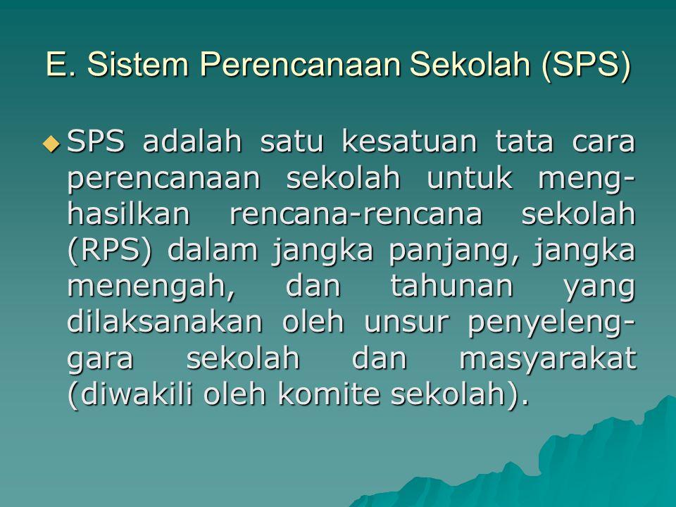 Tujuan RPS (lanjutan)  (4) menjamin keterkaitan dan konsis- tensi antara perencanaan, penganggar- an, pelaksanaan, dan pengawasan; (5) mengoptimalkan