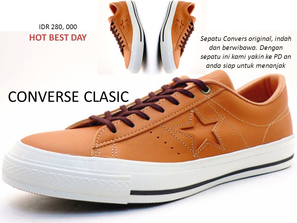 CONVERSE CLASIC Sepatu Convers original, indah dan berwibawa.