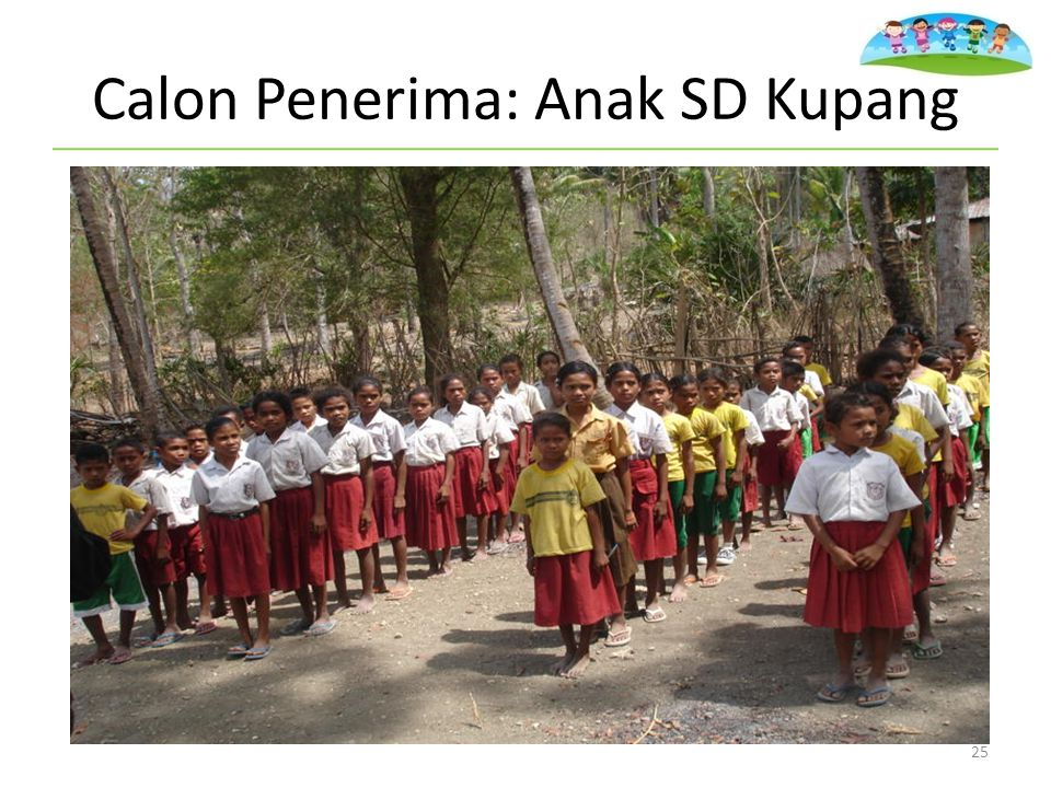 Calon Penerima: Anak SD Kupang 25