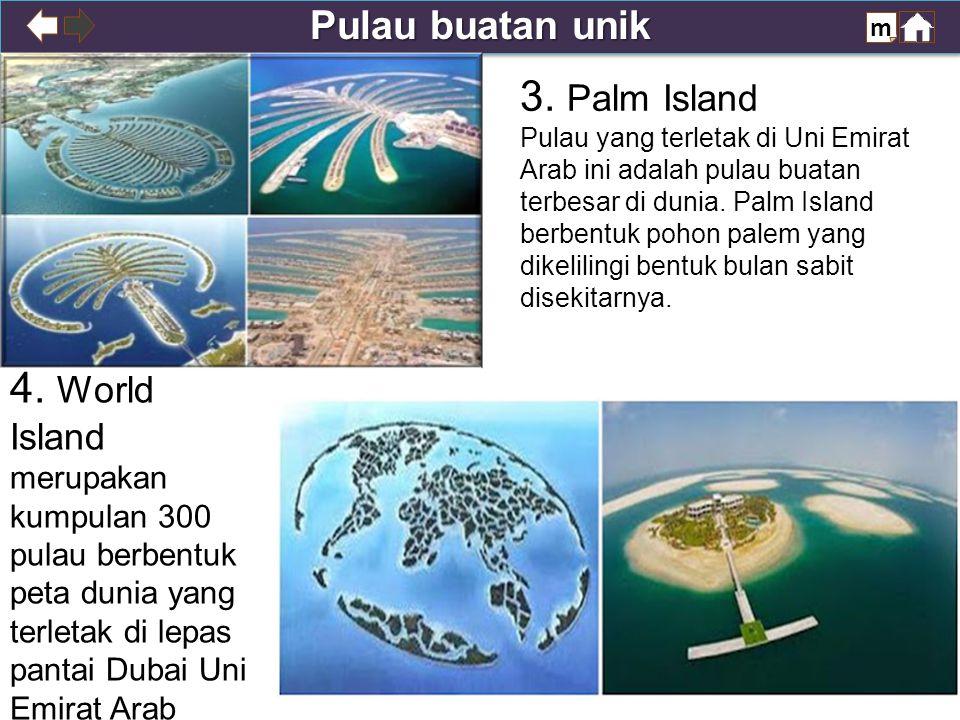 Pulau buatan unik m 3.