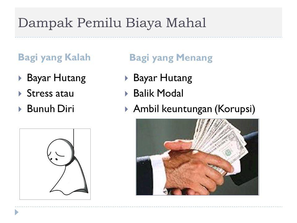 Bandingkan dengan Pemilu Bung Hatta: