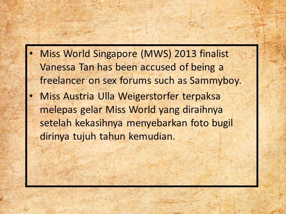 Eksploitasi Tubuh Wanita Miss World merupakan eksploitasi terhadap kaum perempuan karena kontes tersebut menjadikan perempuan sebagai komoditas bisnis layaknya sebuah produk.