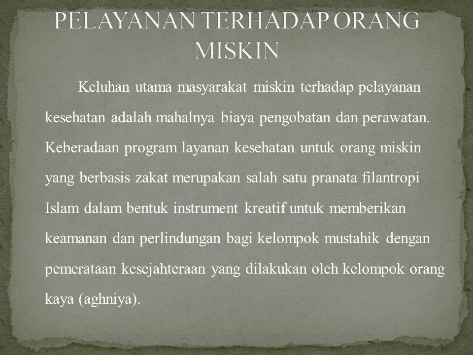 Rumah Zakat juga menjalankan program kesehatan maka dalam hal ini penulis membatasi masalah pada salah satu program Senyum Sehat yaitu Rumah Bersalin Gratiis (RBG) di Jakarta Timur.