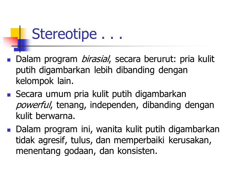 Stereotipe...