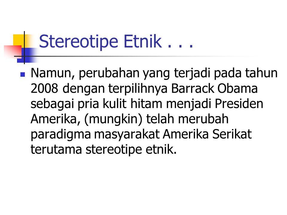 Stereotipe Etnik...