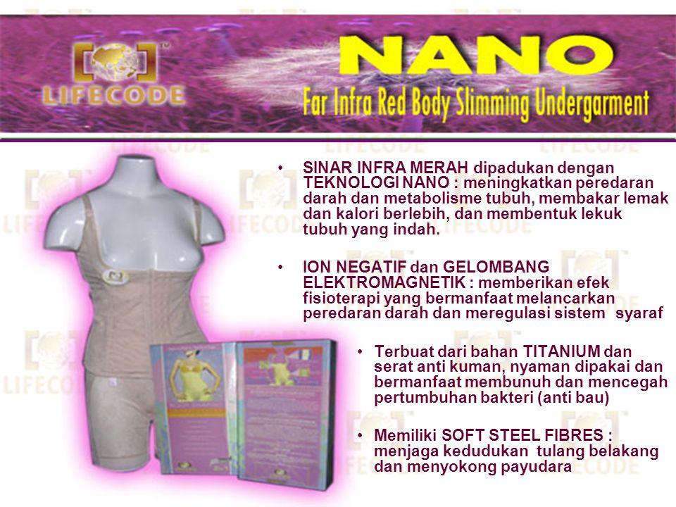 Terbuat dari bahan TITANIUM dan serat anti kuman, nyaman dipakai dan bermanfaat membunuh dan mencegah pertumbuhan bakteri (anti bau) Memiliki SOFT STE