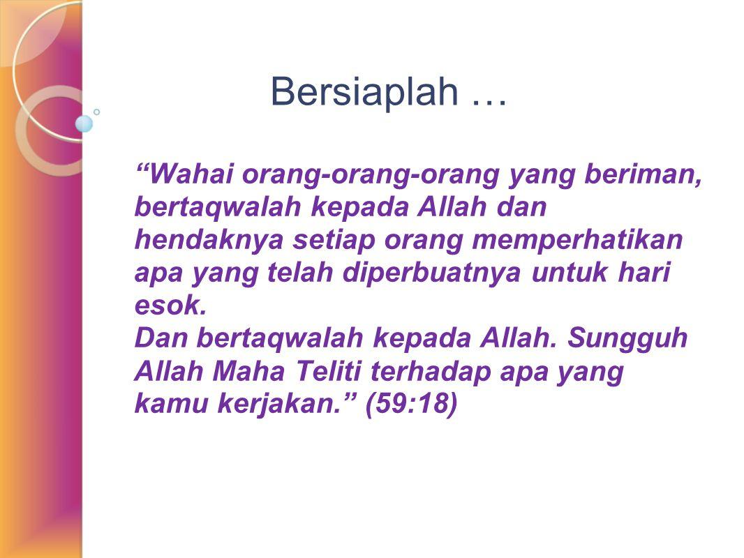 Saat-saat yang memerlukan ikhlas Saat menerima pasangan apa adanya (Puteri Sa'id bin Musayyab) Saat bertanya dan menegur pasangan (Rasulullah : Ibumu sedang cemburu) (Hajar : Apakah Allah yang menyuruhmu?) Saat mencari sumber rizki yang halal (Ayahanda Imam Syafi'i) Saat mendapat ujian berat (Kisah Maryam) Saat berada di kebuntuan gua yang gelap