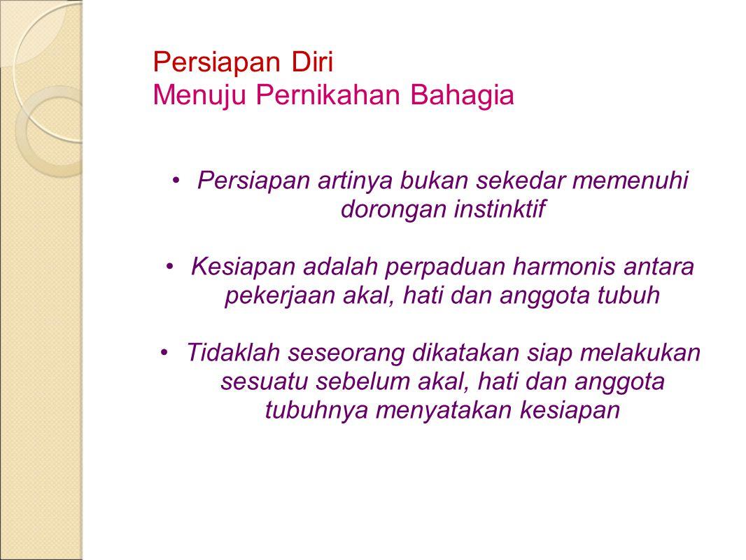 Persiapan Diri 1.Persiapan Ilmu Pengetahuan (Konsepsional dan Intelektual) 2.