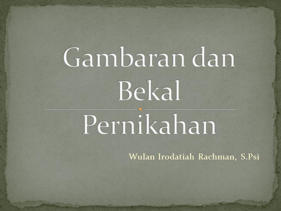 Wulan Irodatiah Rachman, S.Psi
