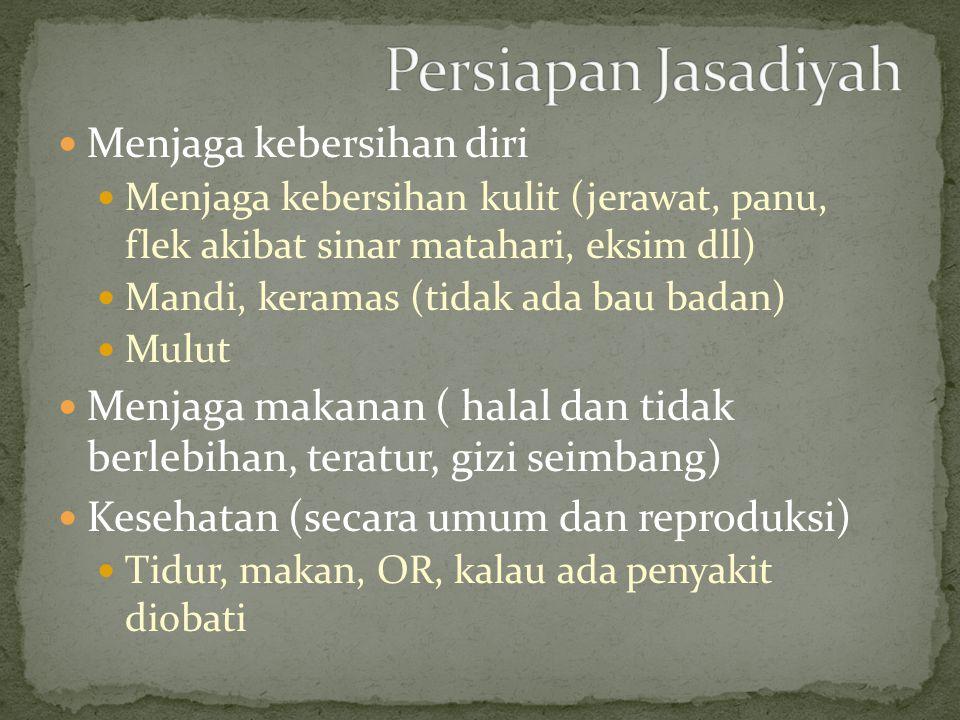 Seorang ikhwan harus siap menjadi seorang qowwam dalam rumah tangga Tanggung jawab, mengambil keputusan, mengarahkan dan membina Siap menanggung beban