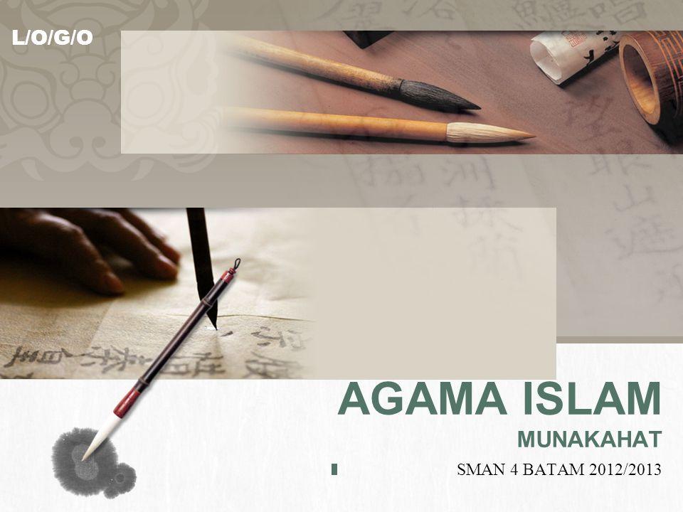 L/O/G/O AGAMA ISLAM MUNAKAHAT SMAN 4 BATAM 2012/2013