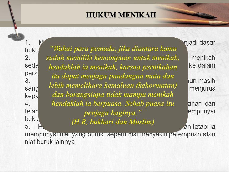 CONTOH IJAB & KABUL Contoh Ijab : Wali perempuan berkata kepada pengantin laki- laki : Aku nikahkan anak perempuan saya bernama si Fulan binti …… dengan.......
