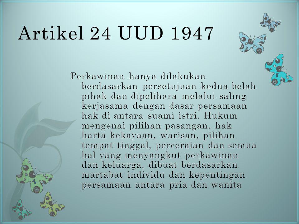 Artikel 24 UUD 1947