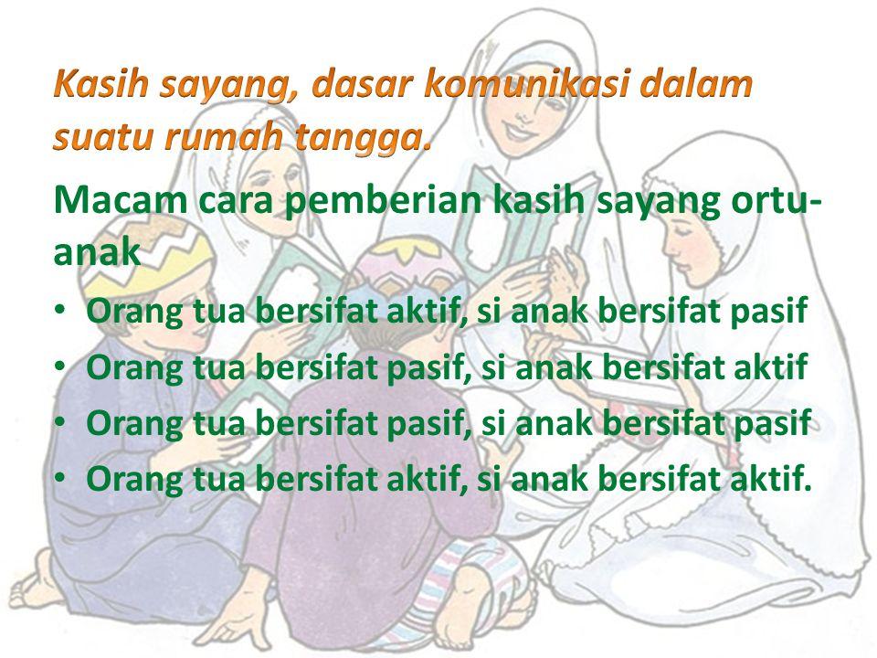 KASIH SAYANG menurut kamus umum Bahasa Indonesia karangan W. J. S. Poerwadarminta adalah perasaan sayang, perasaan cinta atau perasaan suka kepada ses