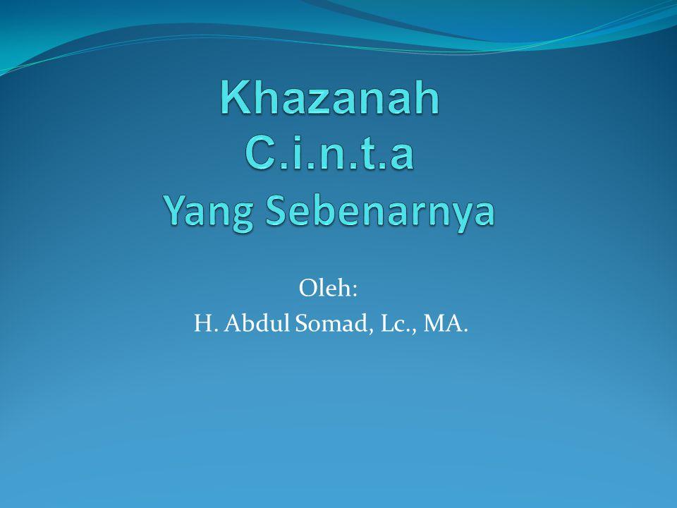 Oleh: H. Abdul Somad, Lc., MA.