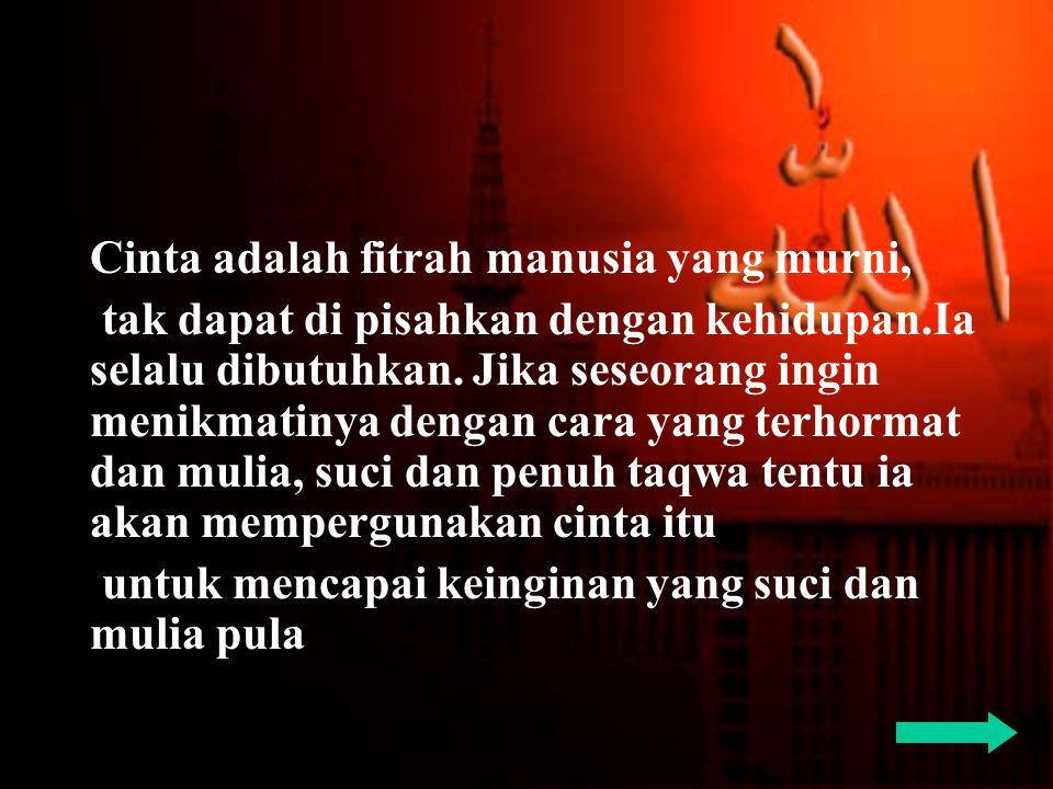 Jangan tangisi ketika si dia mendustai, tetapi tangisilah diri kita yang sedang terlelap dalam buaian dosa.