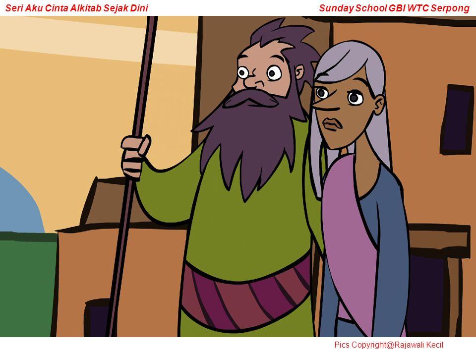 Seri Aku Cinta Alkitab Sejak Dini Sunday School GBI WTC Serpong Pics Copyright@Rajawali Kecil