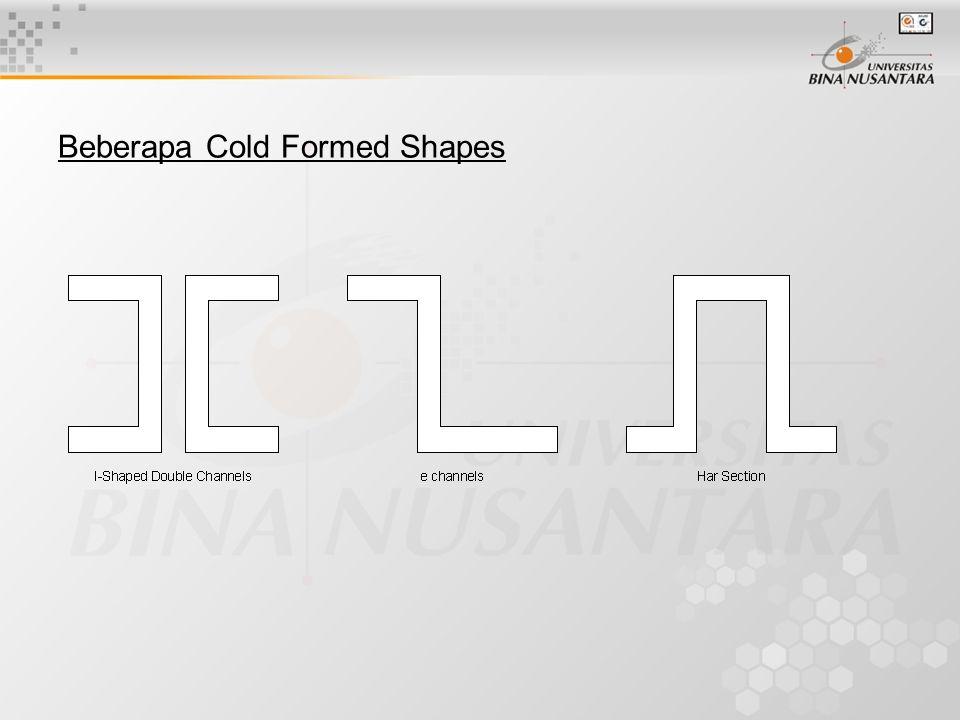 Beberapa Cold Formed Shapes