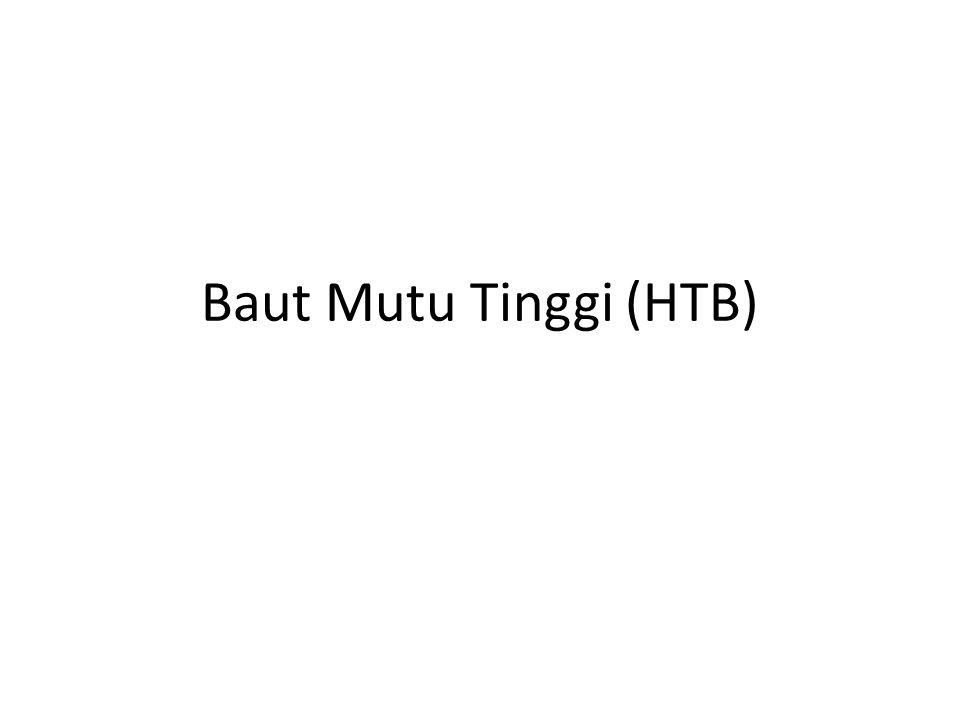 Baut Mutu Tinggi (HTB)
