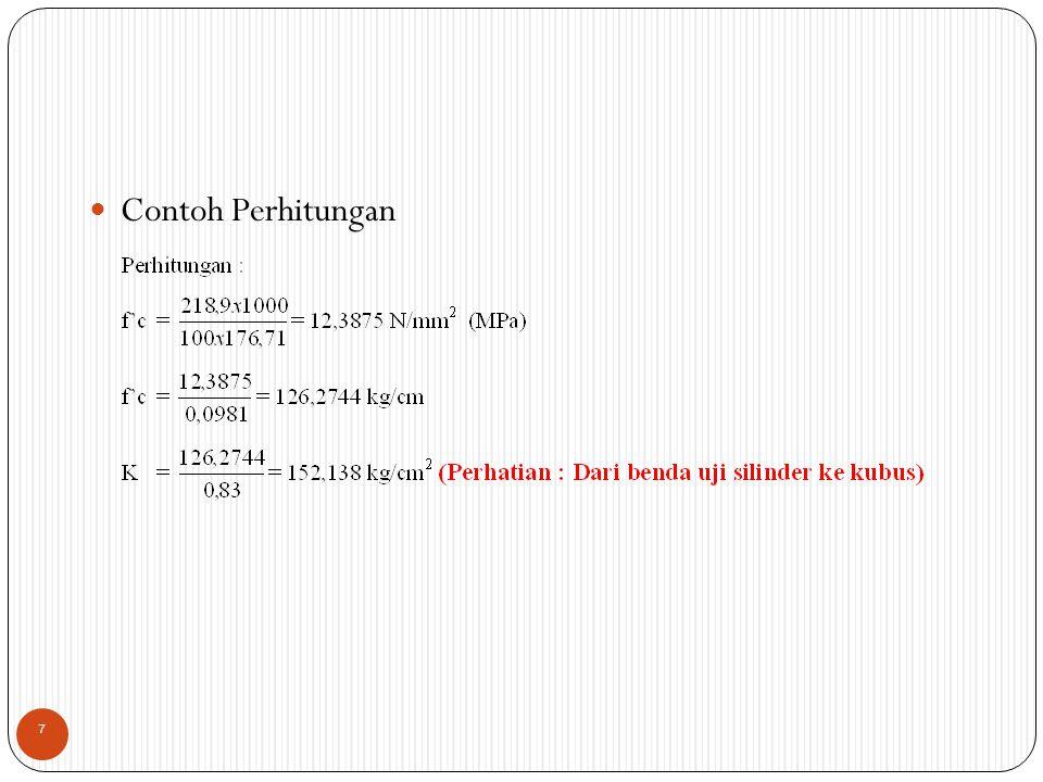 Contoh Perhitungan 7