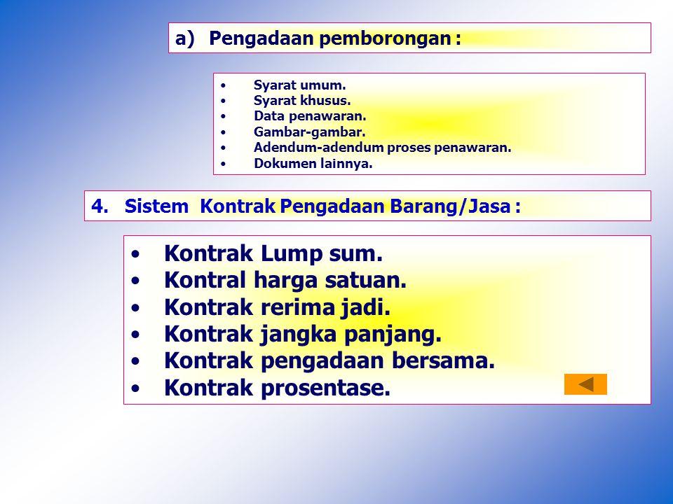 DIAGRAM PENYUSUNAN KONTRAK B/JP/JL HPSHPS LAIN-LAIN - METODA...PELAKSANAAN - JAMINAN ; - PELAKSANAAN - KSO (bila ada) – (dokumen ainnya) : DAFTAR KUANTITAS DAN HARGA GAMBAR-GAMBAR SPESIFIKASI TEKNIS SYARAT-SYARAT KHUSUS KONTRAK SYARAT-SYARAT UMUM KONTRAK PERJANJIAN PERSIAPAN PENGADAAN D0KUMEN PEMILILIHAN PELAKLASAAN PENGADAAN SURAT PERJANJIAN KONTRAK Nomor ;.......
