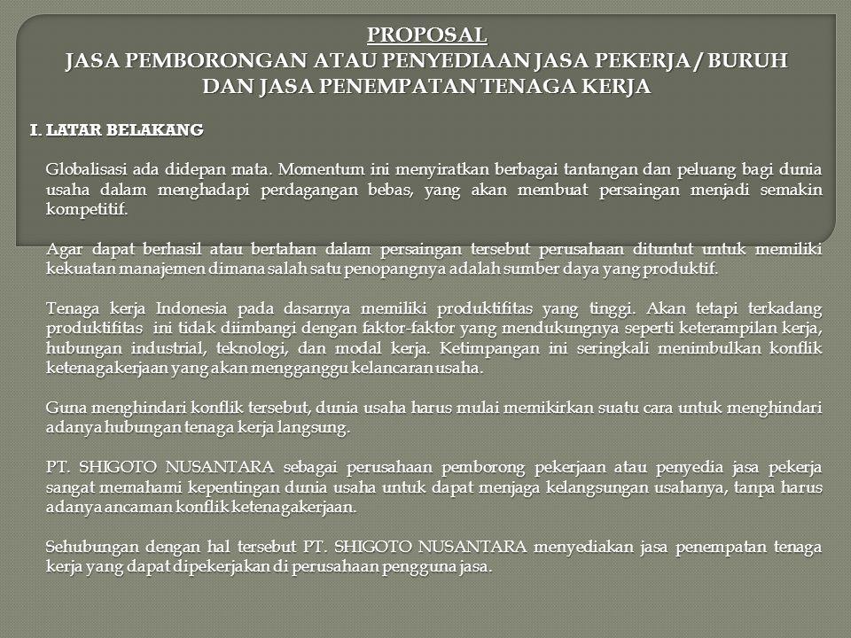 PROGRAM PT.
