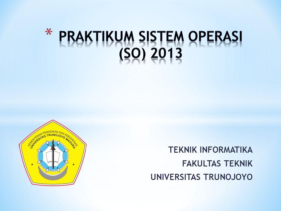 TEKNIK INFORMATIKA FAKULTAS TEKNIK UNIVERSITAS TRUNOJOYO