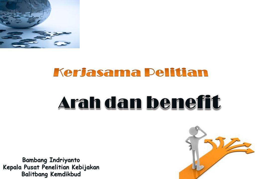 Bambang Indriyanto Kepala Pusat Penelitian Kebijakan Balitbang Kemdikbud