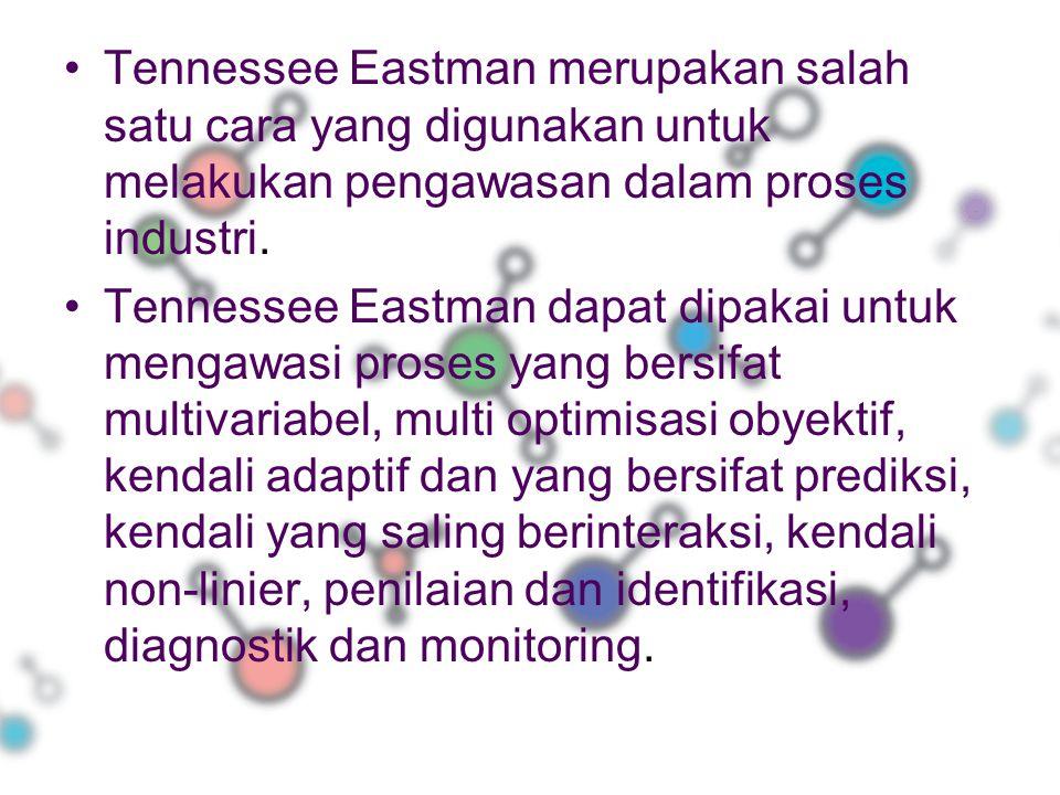 Tennessee Eastman merupakan salah satu cara yang digunakan untuk melakukan pengawasan dalam proses industri. Tennessee Eastman dapat dipakai untuk men