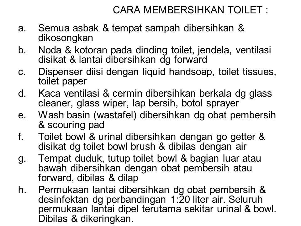 OBAT PEMBERSIH TOILET Go getter (pembersih toilet bowl) Go getter (pembersih toilet bowl) Forward (pembersih lantai) Forward (pembersih lantai) Shine