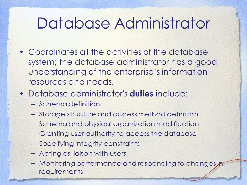 Transaction Management A transaction is a collection of operations that performs a single logical function in a database application Transaction-management component ensures that the database remains in a consistent (correct) state despite system failures (e.g., power failures and operating system crashes) and transaction failures.
