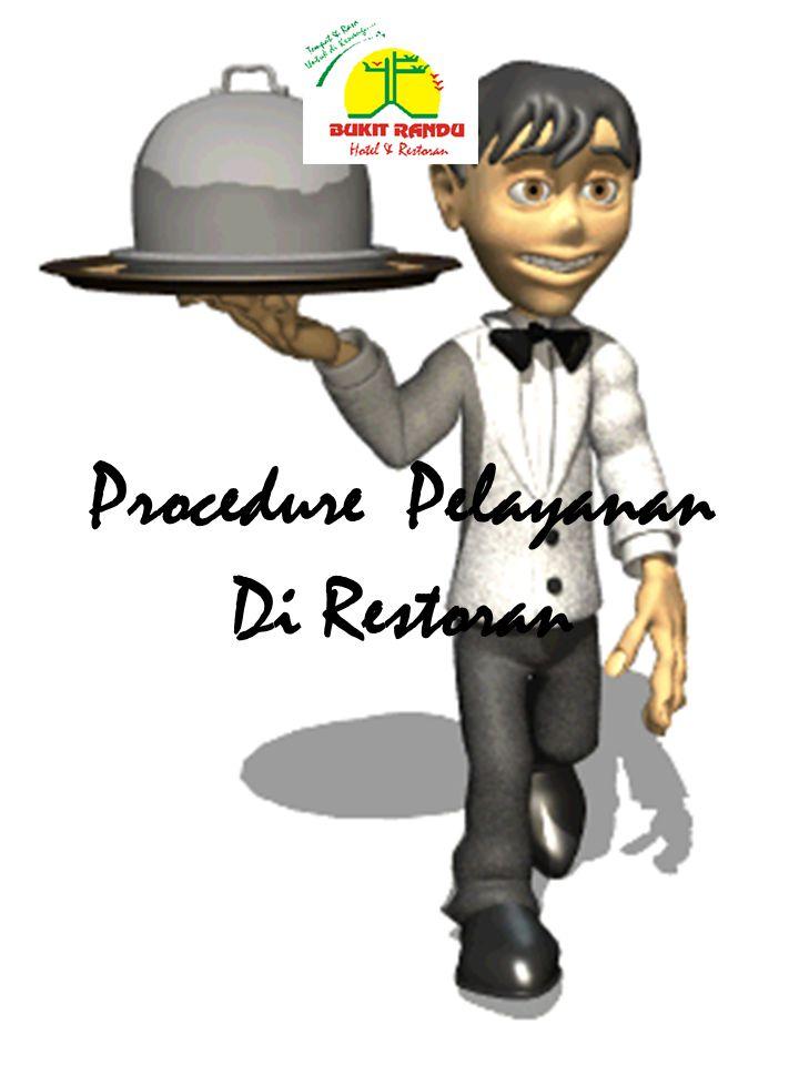 Procedure Pelayanan Di Restoran