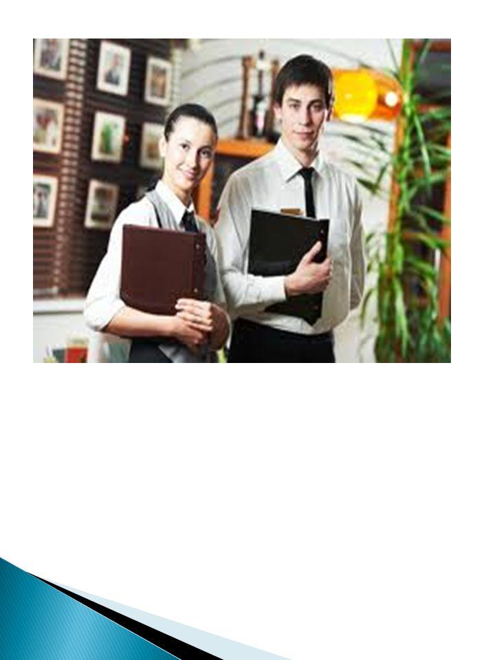Tugas dan Tanggung Jawab Waiter Seorang waiter mempunyai tugas dan tanggung jawab dari satu operasional ke operasional lainnya tergantung pada kebijakan dan standar pelayanan yang digunakan oleh suatu industri.