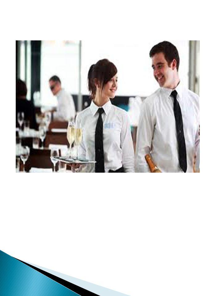 Kelengkapan Waiter Seorang waiter yang profesional harus memiliki kelengkapan yang siap pakai saat bekerja.