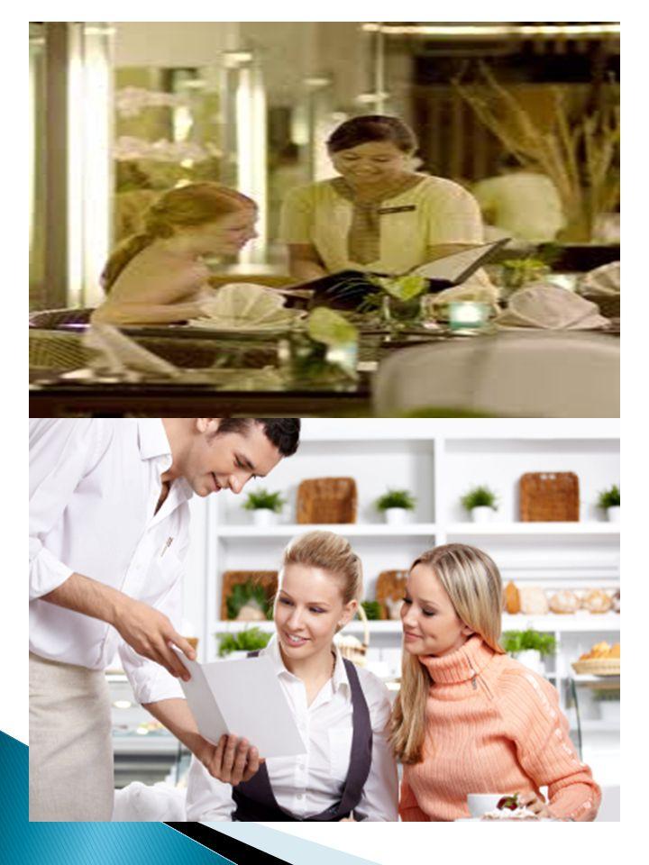 STANDAR :  Pada saat tamu siap memesan makanan dan minuman atau ketika mereka meminta bantuan anda, dapat disarankan mengenai menu special.