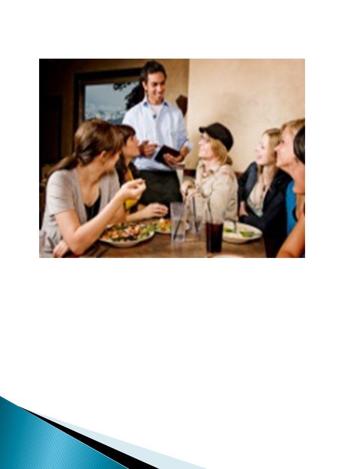 STANDAR :  Perhatikan aturan dasar yang berlaku di setiap outlet dan gunakan tuntunan dari pengawas yang lebih berpengalaman, pastikan untuk selalu menggunakan captain order yang berisi, pastikan juga bahwa tiap daftar pesanan dibuat rangkap tiga, mintalah bantuan captain atau supervisor bila ada pesanan khusus.