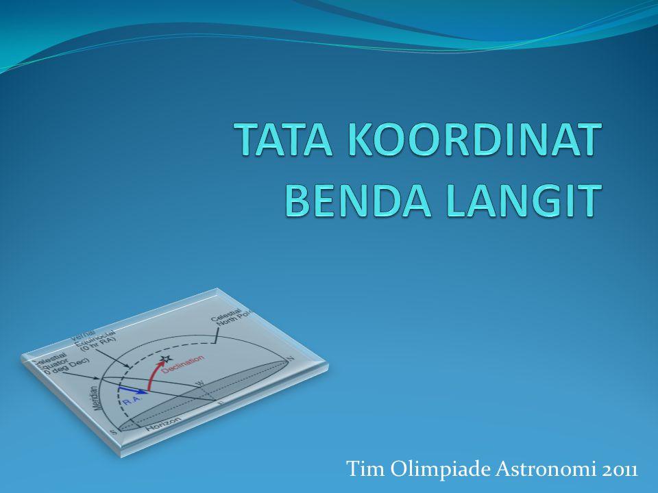 Tim Olimpiade Astronomi 2011