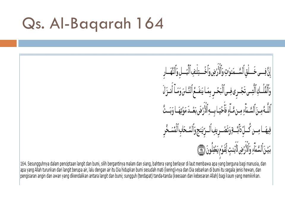 Qs. Al-Baqarah 164