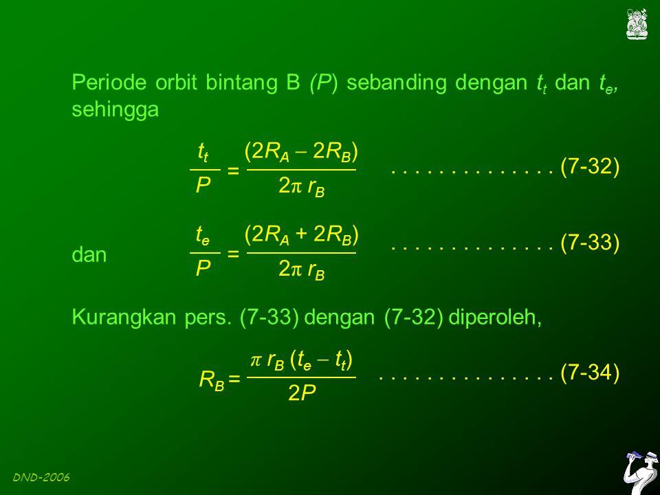DND-2006 (2R A  2R B ) 2π rB2π rBt P =..............