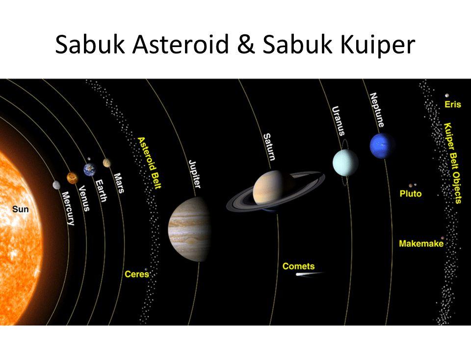 Sabuk Asteroid & Sabuk Kuiper