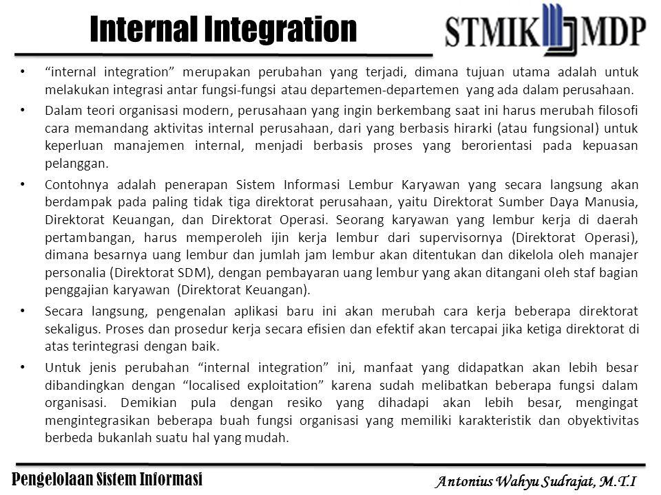 Pengelolaan Sistem Informasi Antonius Wahyu Sudrajat, M.T.I Business Process Redesign business process redesign atau yang lebih dikenal dengan BPR atau Business Process Reengineering .