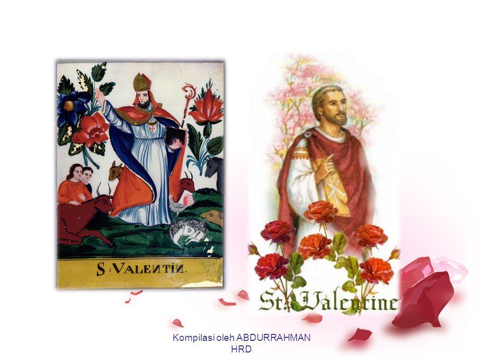Sejarah Valentine Versi Pertama: Kisah Pendeta St. Valentine yang hidup di akhir abad ke 3 M di zaman Raja Romawi Claudius II. Pada tanggal 14 Februar