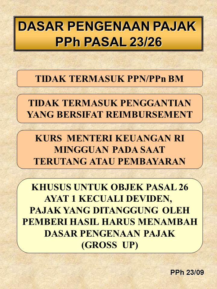 BUKTIPEMOTONGAN/PEMUNGUTAN WAJIB PEMOTONG/PEMUNGUT MEMBUAT BUKTI PEMOTONGAN/PEMUNGUTAN TIDAK FINAL DIBUAT RANGKAP 3 (TIGA) PPh 23/40