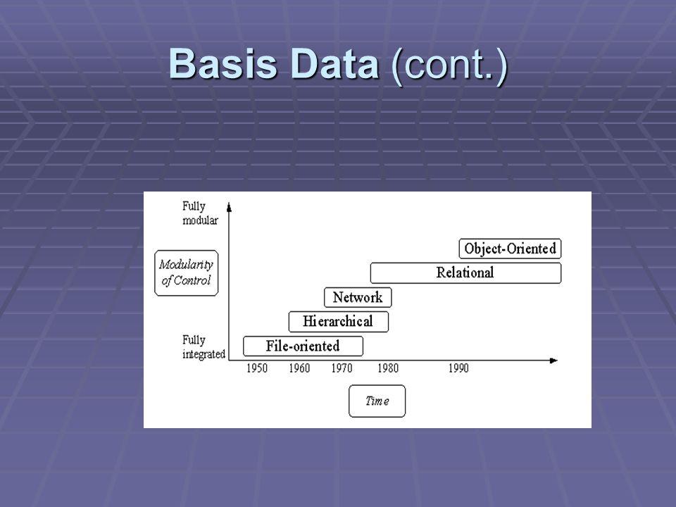 Basis Data (cont.)