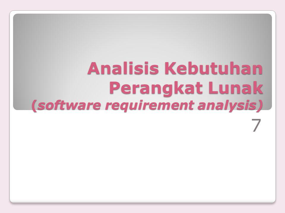 c) Kebutuhan unjuk kerja -proses jurnal hanya bisa dilakukan sekali setelah data transaksi penjualan direkam.