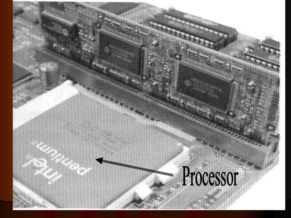 Processor Suatu bagian yang terpenting didalam komputer, processor yang menentukan jenis komputer yang dipakai