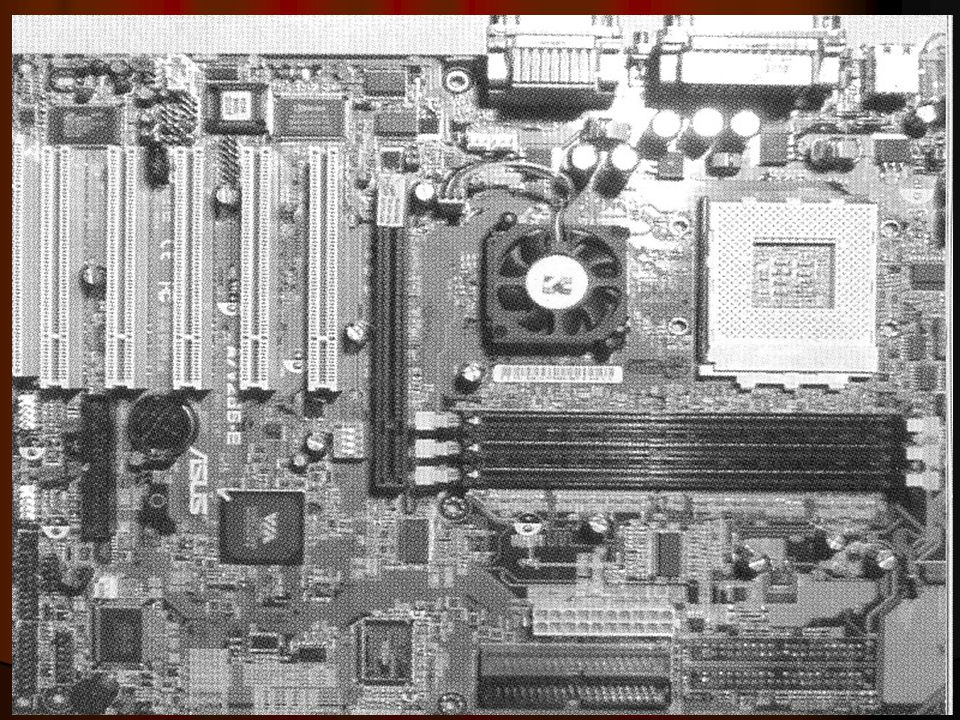 3. Peralatan Tambahan (Periferal) Perlatan tambahan ini biasa dipasang pada slot yang terletak di motherboard Seperti : a. M odem b. M usic Card